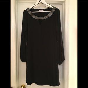🌿Calvin Klein Black Dress with Jewel neckline 14